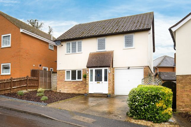 Thumbnail Detached house for sale in Layston Park, Royston