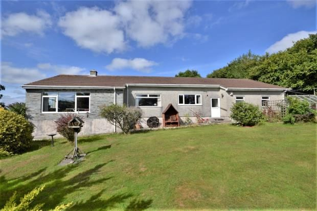 Thumbnail Detached bungalow for sale in Pillaton, Saltash, Cornwall
