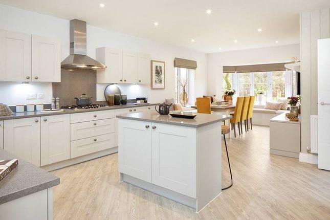 "Thumbnail Detached house for sale in ""The Haddenham"" at Calais Dene, Bampton"