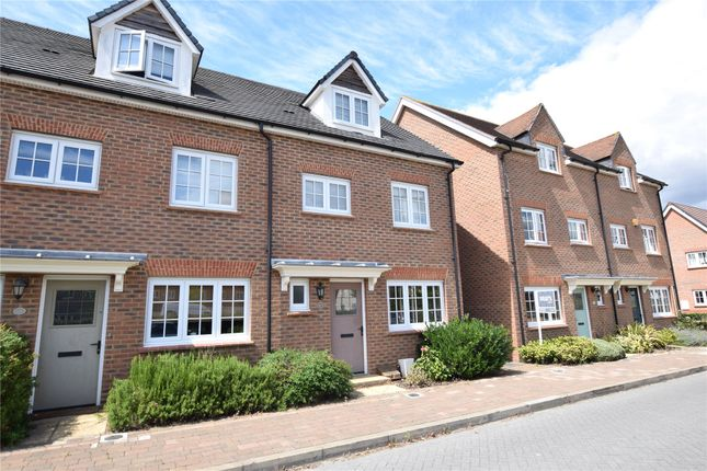 Thumbnail End terrace house to rent in Fulmar Crescent, Jennett's Park, Bracknell, Berkshire
