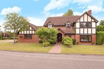 Thumbnail Detached House For Sale In Tudor Gables Blackacres Close Sandbach
