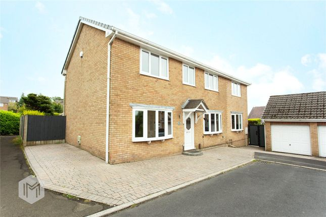 Thumbnail Detached house for sale in Marston Close, Lostock, Bolton, Greater Manchester