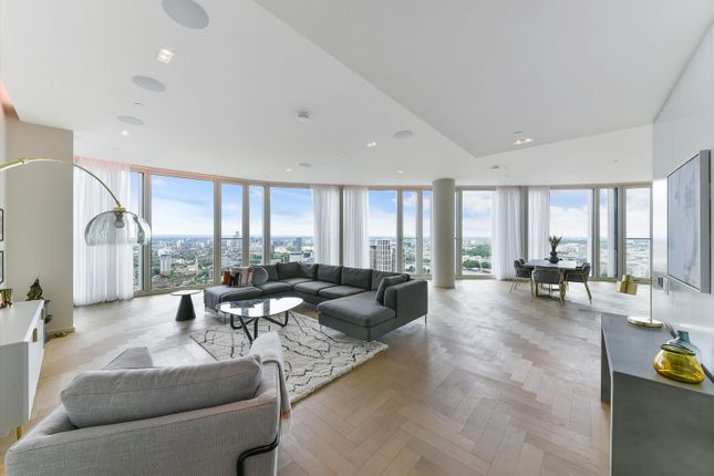 Thumbnail Flat to rent in Upper Ground, Southbank, London