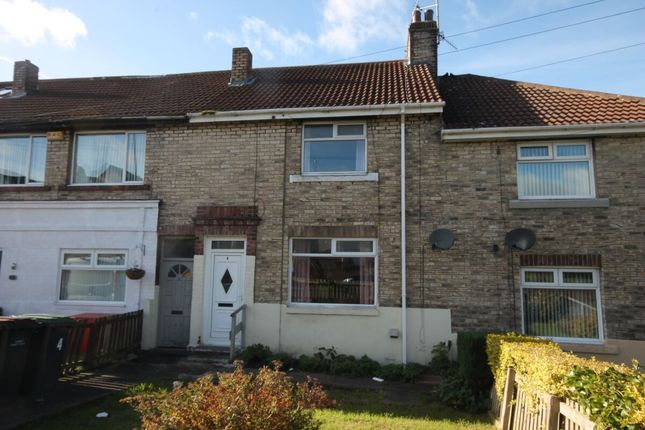 2 bed terraced house to rent in Pemberton Avenue, The Grove, Consett DH8