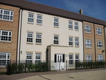 Thumbnail Flat for sale in Wilks Walk, Grange Park, Northampton
