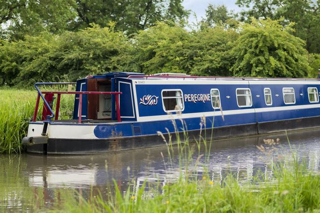 Thumbnail Houseboat for sale in Far Coton, Market Bosworth, Nuneaton