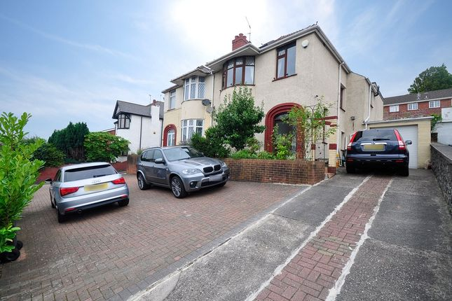 Thumbnail Semi-detached house for sale in Chepstow Road, Newport