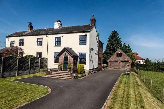 Semi-detached house for sale in Haddon Lane, Chapel Chorlton, Newcastle-Under-Lyme