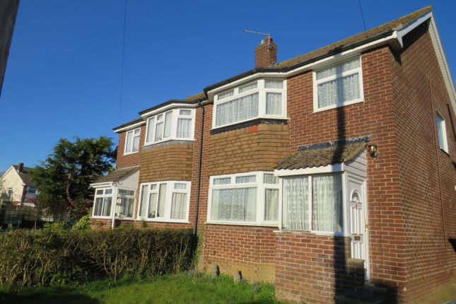 Thumbnail Semi-detached house to rent in Meadow Road, Basingstoke