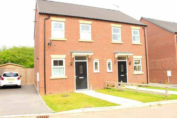 Thumbnail Semi-detached house for sale in Summer Way, Filey, North Yorkshire
