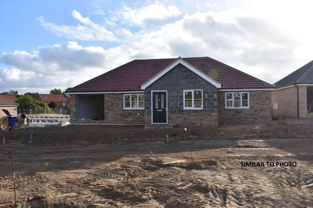 Thumbnail Detached bungalow for sale in Plot 1 Dovedale, Yarmouth Road, Hemsby