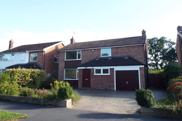 4 bed detached house to rent in Wistaston, Crewe CW2