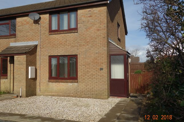 Thumbnail End terrace house to rent in Monnow Close, Steynton, Milford Haven