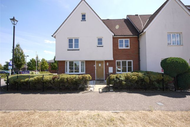 Thumbnail End terrace house for sale in The Gables, Ongar, Essex