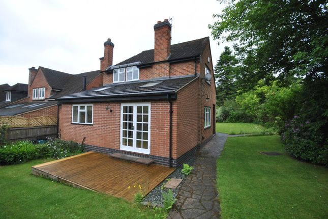 Thumbnail Detached house to rent in Maplewell Road, Woodhouse Eaves, Loughborough