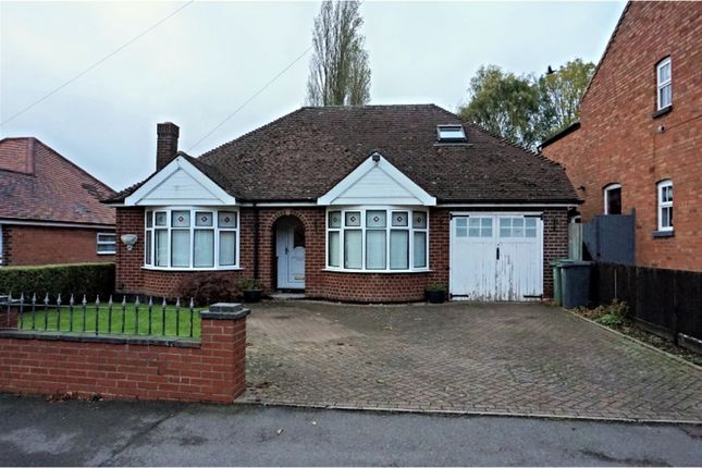 Thumbnail Detached bungalow for sale in Church Road, Astwood Bank