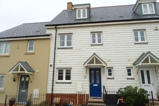 Thumbnail Town house for sale in Ffordd Y Draen, Coity, Bridgend