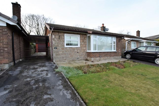 Thumbnail Bungalow for sale in Park View Drive, Chapel-En-Le-Frith, High Peak