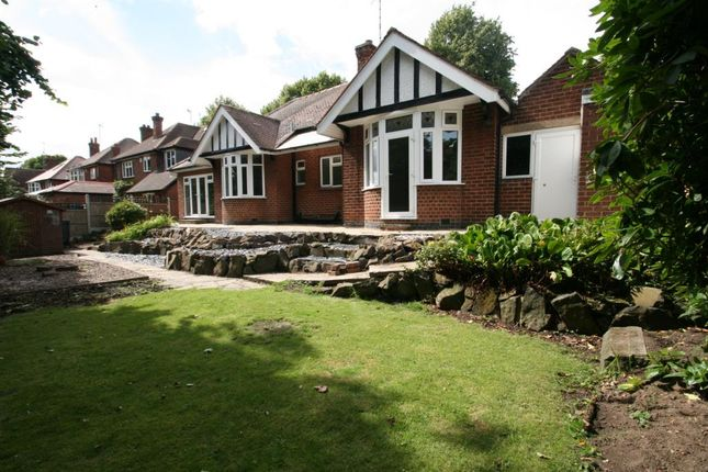 Thumbnail Detached bungalow to rent in Ribblesdale Road, Sherwood, Nottingham