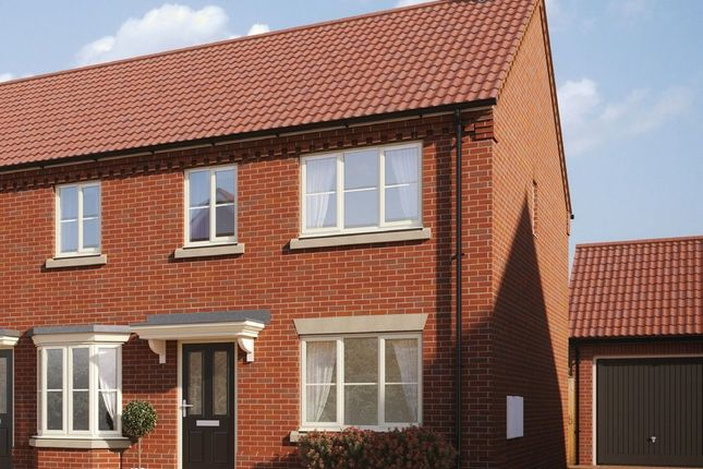 Thumbnail Semi-detached house for sale in Plot 13, Heath Farm, Holt