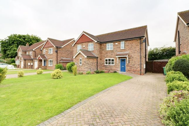 Thumbnail Semi-detached house for sale in Worsley Paddock, Ulceby