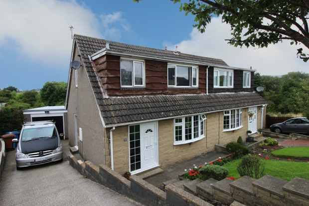 Thumbnail Semi-detached house for sale in Airdale Avenue, Skipton, North Yorkshire