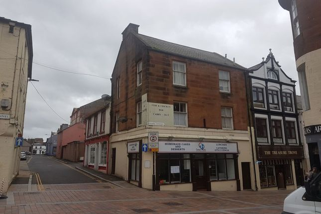 Thumbnail Flat to rent in Irish Street, Dumfries