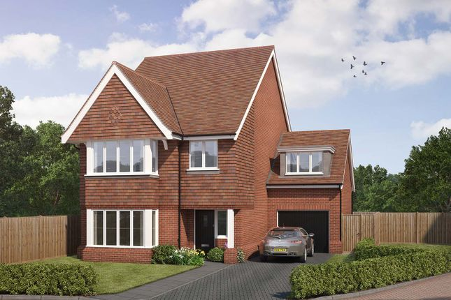 "Thumbnail Detached house for sale in ""The Brimstone"" at Old Bisley Road, Frimley, Surrey, Frimley"