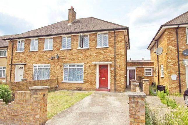 Thumbnail Semi-detached house to rent in New Peachey Lane, Cowley, Uxbridge