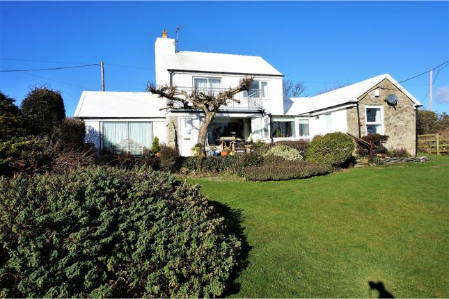 Thumbnail Detached house for sale in Rhoscolyn, Holyhead