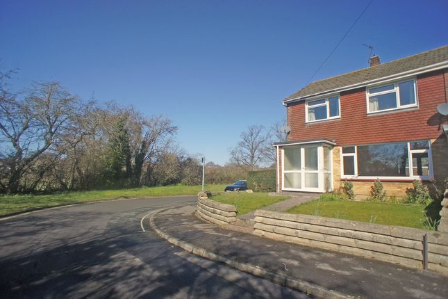 Thumbnail End terrace house to rent in Brookfield Close, Havant