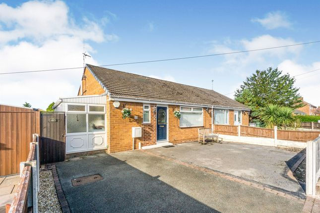 Thumbnail Semi-detached bungalow for sale in Ridgemere Road, Heswall, Wirral
