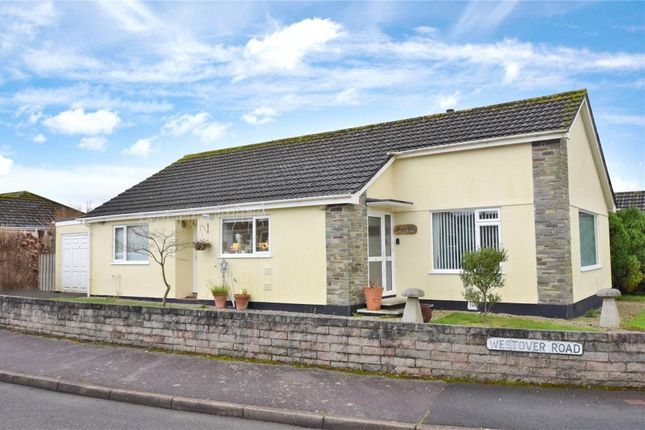 Thumbnail Detached bungalow to rent in Westover Road, Callington, Cornwall