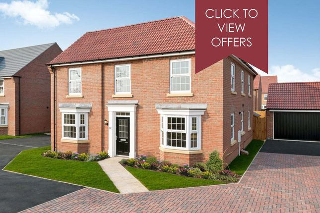"Thumbnail Detached house for sale in ""Eden"" at Allendale Road, Loughborough"