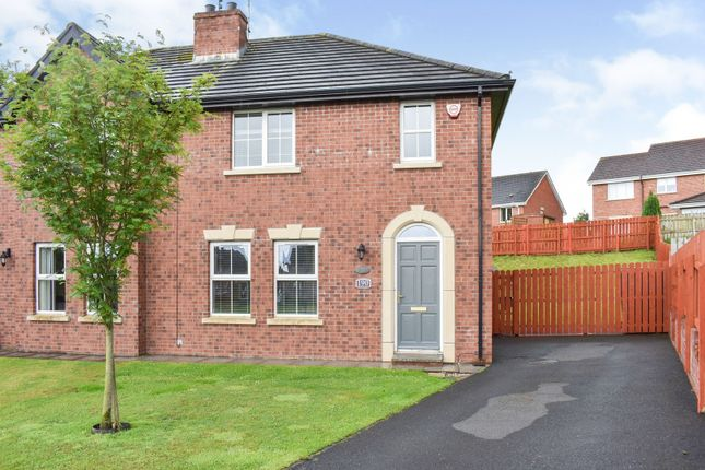 Thumbnail Semi-detached house for sale in 190 Belvedere Manor, Lurgan, Co. Armagh