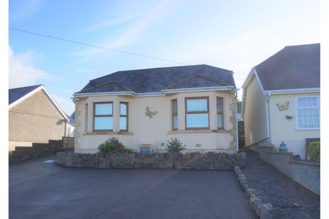 Thumbnail Detached bungalow for sale in Heol Treventy, Llanelli