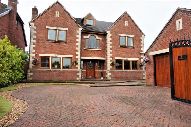 Thumbnail Detached house for sale in Cherry Drive, Brockhall Village, Old Langho