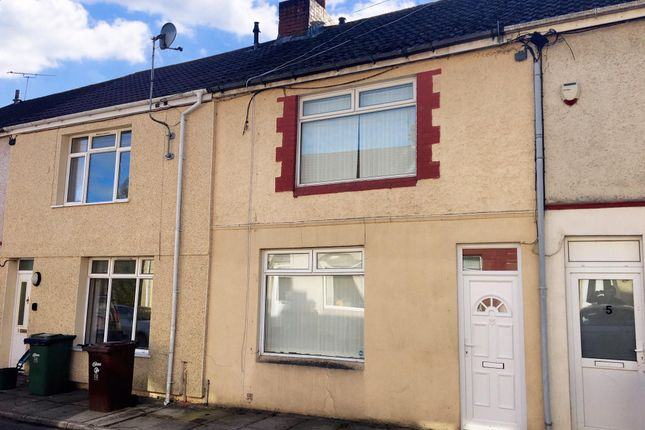 Thumbnail Terraced house to rent in Greenfield Terrace, Argoed, Blackwood