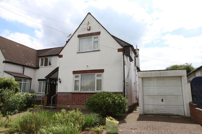 Thumbnail Semi-detached house for sale in Woodcock Dell Avenue, Kenton, Harrow