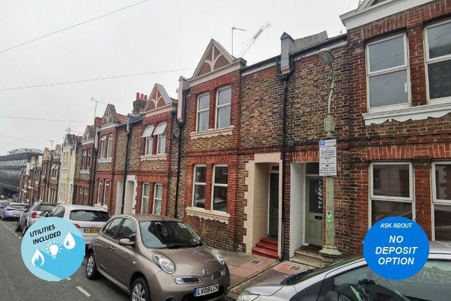 Thumbnail Terraced house to rent in White Street, Brighton