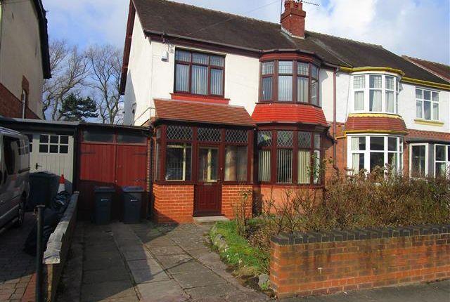 Thumbnail Property to rent in Willow Avenue, Edgbaston, Birmingham