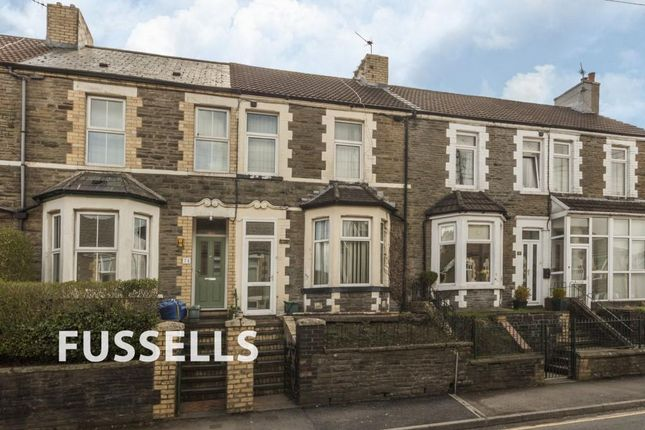 3 bed terraced house for sale in Van Road, Caerphilly CF83