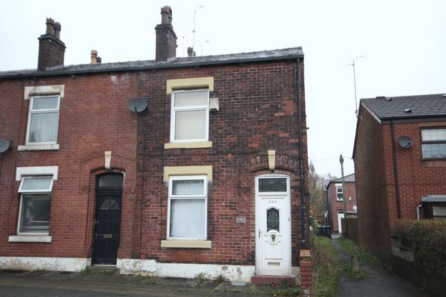 Thumbnail End terrace house to rent in Bury Road, Half Acre, Rochdale