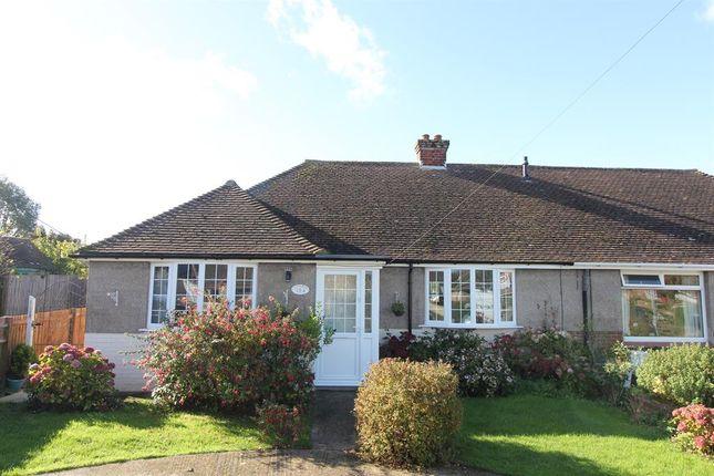 Thumbnail Semi-detached bungalow for sale in Helena Road, Capel-Le-Ferne, Folkestone