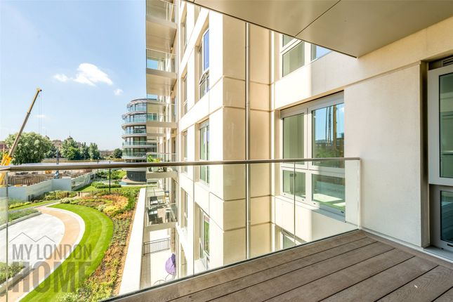 Thumbnail Flat for sale in Faulkner House, Fulham Reach, Fulham, London