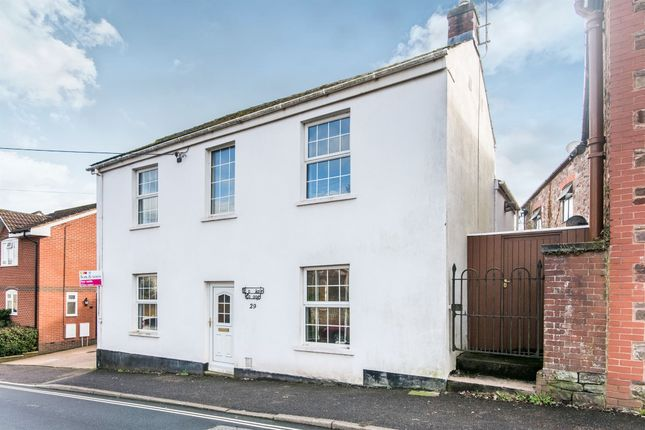 Thumbnail Detached house for sale in Belmont Road, Tiverton