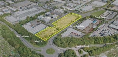 Thumbnail Warehouse for sale in Plot 73 Walworth Business Park, Andover, Hampshire