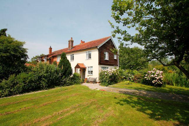 Thumbnail Semi-detached house for sale in California Lane, Hintlesham, Hintlesham, Ipswich