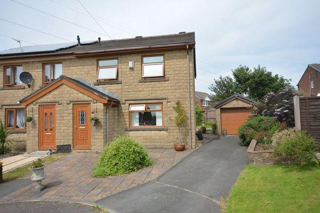 Thumbnail Semi-detached house for sale in Hazel Grove, Clayton Le Moors, Accrington