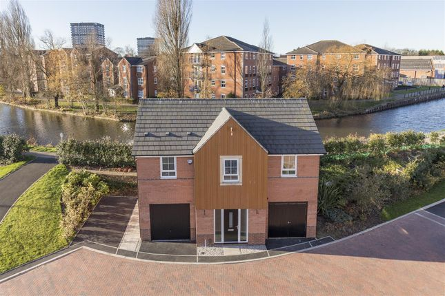 Thumbnail Detached house for sale in The Moorings, Near Electric Wharf, Coventry